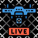 Drone Report Broadcast Icon