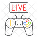 Game Streaming Live Icon