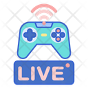 Live Gaming Online Game Gaming Stream Icon