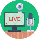 Microphone Video Camera Camera Icon