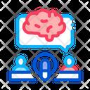Brain Business Internet Icon