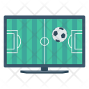Lcd Screen Soccer Icon