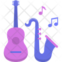 Live Music Livemusic Guitar Icon