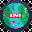 News Broadcasting Viral News Live Icon