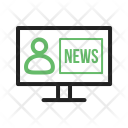 Live News Reporter Icon