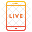 Live News In Mobile Icon