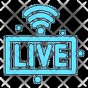 Live Podcast Radio Icon