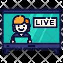 Live Program News Program News Icon