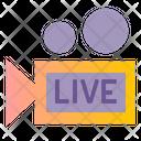 Vdo Cam Live Recording Icon