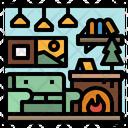 Sofa Household Home Icon