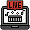 Live Song Live Music Live Channel Icon