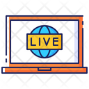 Internet Stream Live Icon