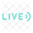 Live Stream Live Streaming Icon