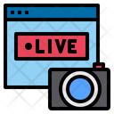 Website Live Technology Icon
