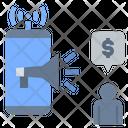 Online Marketing Promote Advertisement Icon