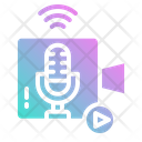 Streaming Live Play Icon