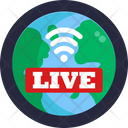 Live Streaming Streaming Video Streaming Icon