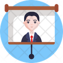Live Streaming Video Streaming Video Lecture Icon