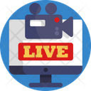 Live Streaming Live Streaming Icon