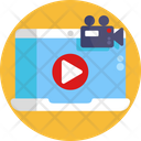 Streaming Video Live Streaming Icon