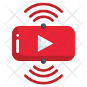 Live Streaming Vlog Entertainment Social Media Icon