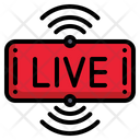 Live Streaming Ui Entertainment Icon