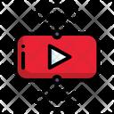 Live Streaming Vlog Entertainment Social Media Icon