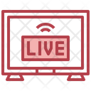 Live Streaming Television Tv Icon