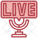 Live Streaming Icon