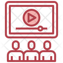 Live Streaming Online Streaming Video Streaming Icon