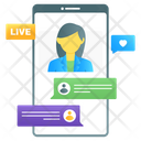 Live Talk Icon