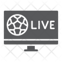 Soccer Tv Game Icon