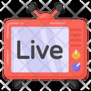 Live Tv Television Tv Icon