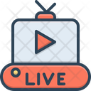 Live Video Movie Icon