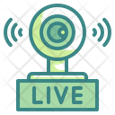 Live Video Webcam Video Icon