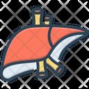 Liver Anatomy Biology Icon