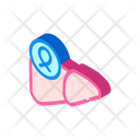 Liver Cancer Isometric Icon