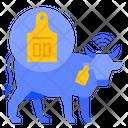 Livestock Agriculture Smart Icon
