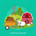 Livestock Manure Agriculture Icon