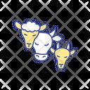 Livestock Animals Icon