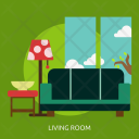 Living Room Building Icon