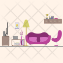 Living Room Background Icon