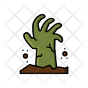Living Dead Halloween Scary Icon