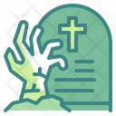 Living Dead Graveyard Scary Icon