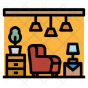 Furniture Household Living Icon