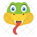 Lizard Face Icon