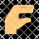 Lizard Hand gesture Icon