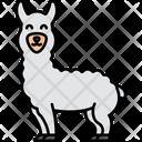 Llama Animal Wildlife Icon