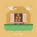 Load Box Delivery Icon