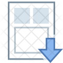 Load resume template Icon